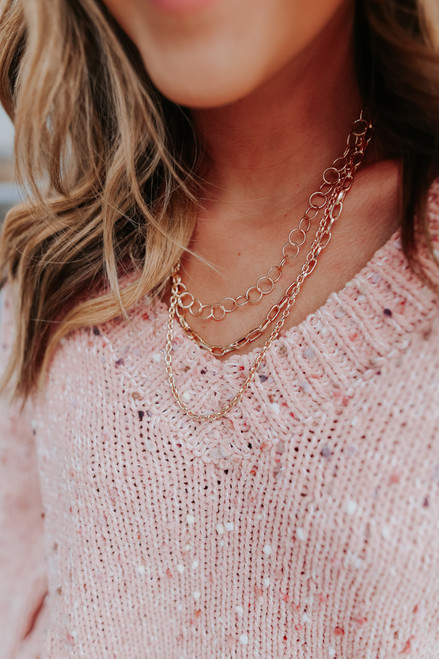 Versailles Layered Gold Necklace