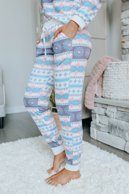 Sugarplum Lane Fair Isle Pajama Set