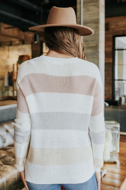 Sundae Date Colorblock Sweater