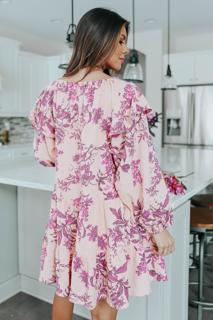 Free People Sunbaked Floral Swing Dress