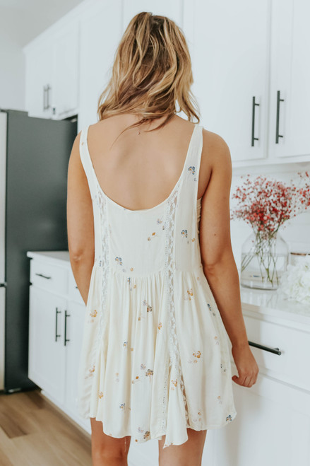 Free People Give A Little Floral Slip Dress