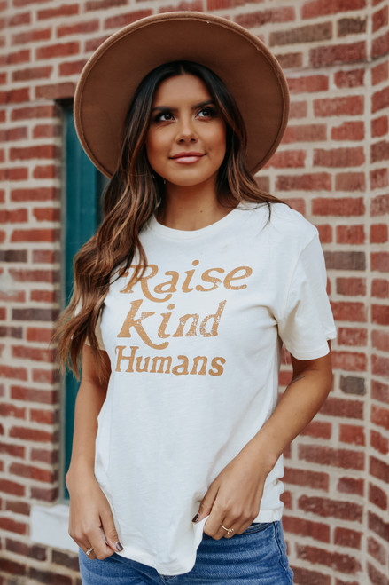 Raise Kind Humans Tee