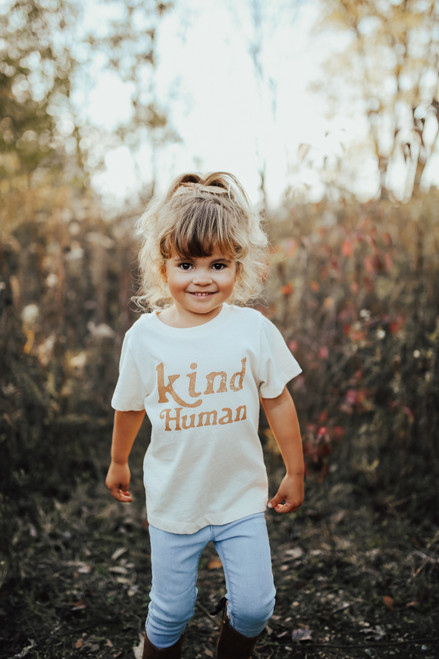 Kind Human Kids Tee