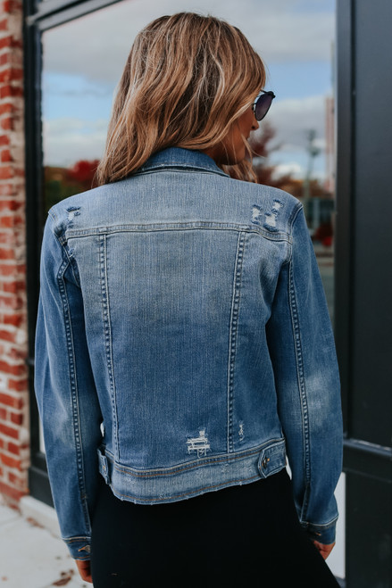 Home Game Medium Wash Denim Jacket