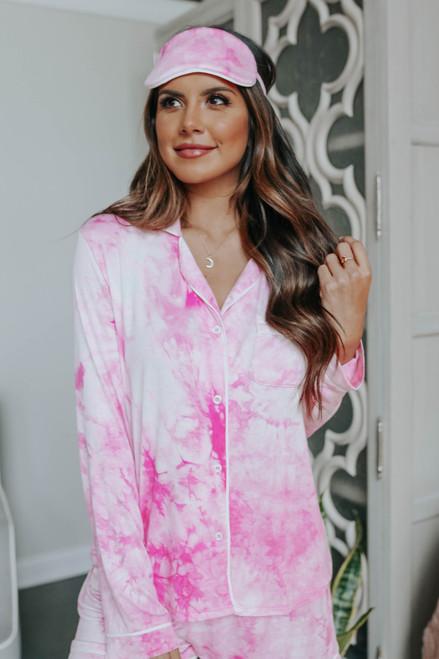 Electric Love Tie Dye Pajama Set