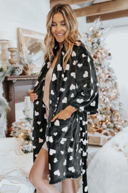 Heartbreaker Fleece Robe