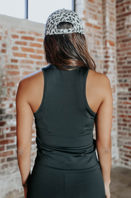 Set Your Pace Halter Workout Tank
