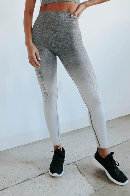 New Beginnings Grey Ombre Workout Set
