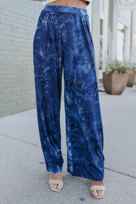 Mellow Out Tie Dye Wide Leg Pants