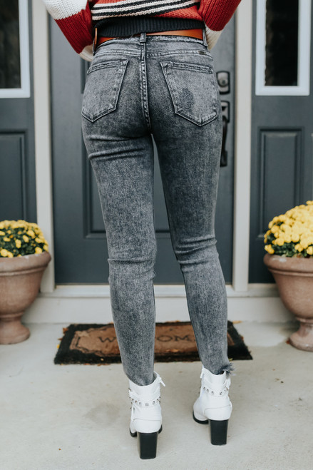Ride With Me Vintage Wash Skinny Jeans