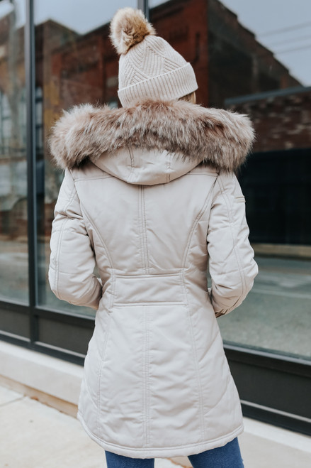 Winter Meadow Hooded Coat