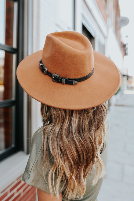 Napa Valley Tan Western Belted Hat