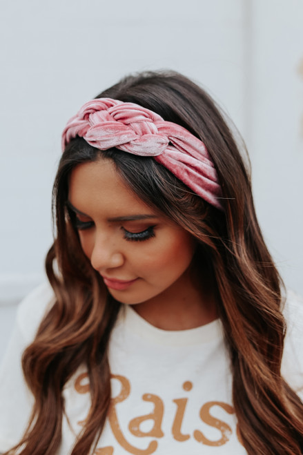 Headbands of Hope Velvet Headband