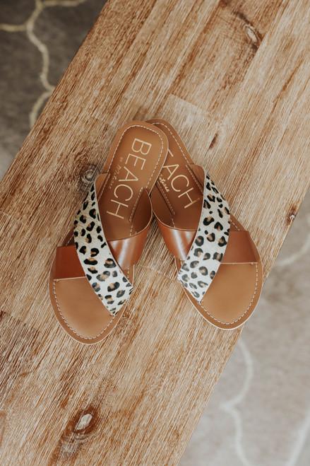 Beach by Matisse Pebble Leopard Sandals