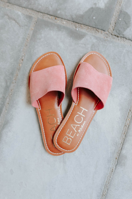 Beach by Matisse Cabana Rose Slides