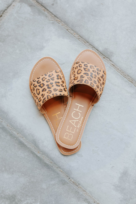 Beach by Matisse Cabana Leopard Slides