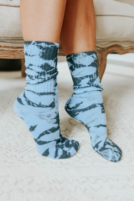 Daydreamer Night Sky Tie Dye Socks