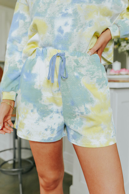Dream State Tie Dye Terry Shorts