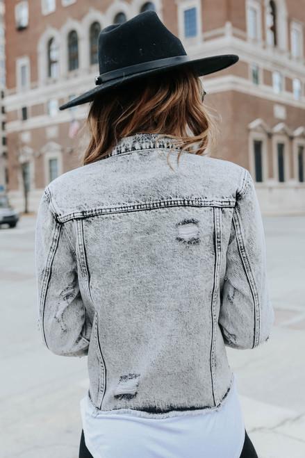 Maverick Vintage Wash Denim Jacket