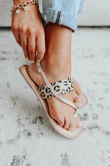 Chinese Laundry Reeba Leopard Sandals
