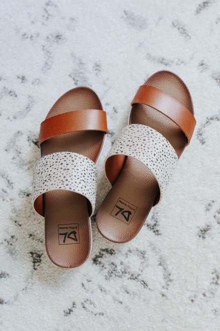 Dirty Laundry Coastline Cheetah Sandals