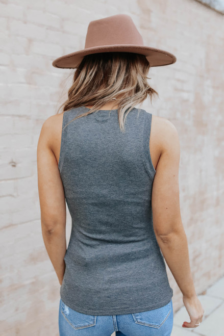 Emmerson High Neck Charcoal Tank
