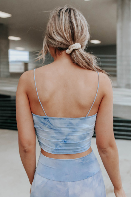 Stratosphere Tie Dye Cropped Tank