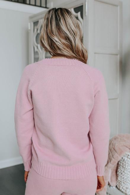Better Together Mauve Sweater Set