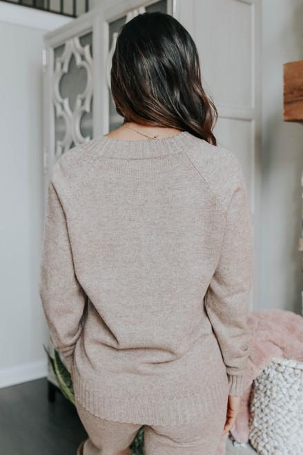 Better Together Mocha Sweater Set