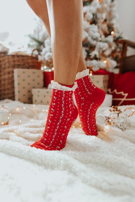 Free People Rosebud Ankle Socks