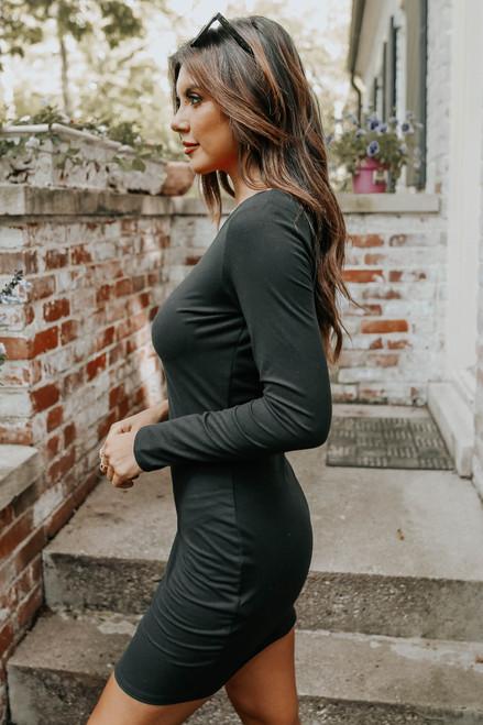 Ariele One Shoulder Bodycon Dress