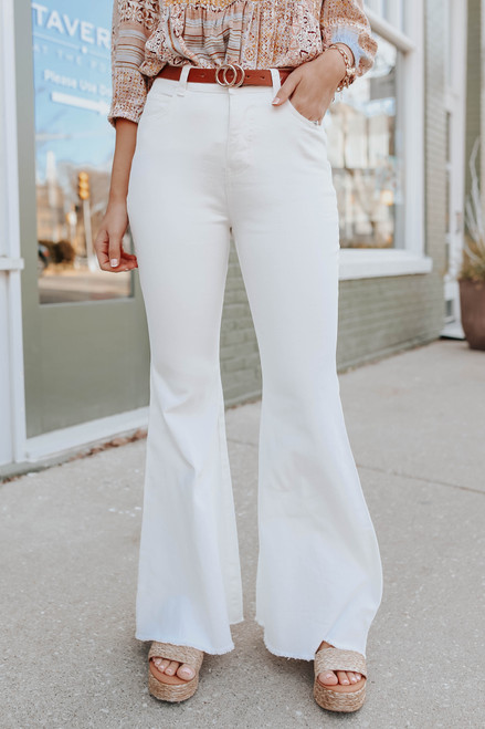 Dancing Queen High Waisted Flare Jeans