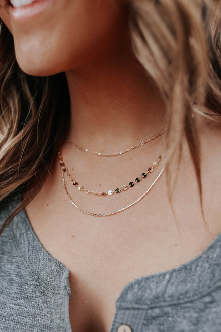 Norah Layered Gold Necklace
