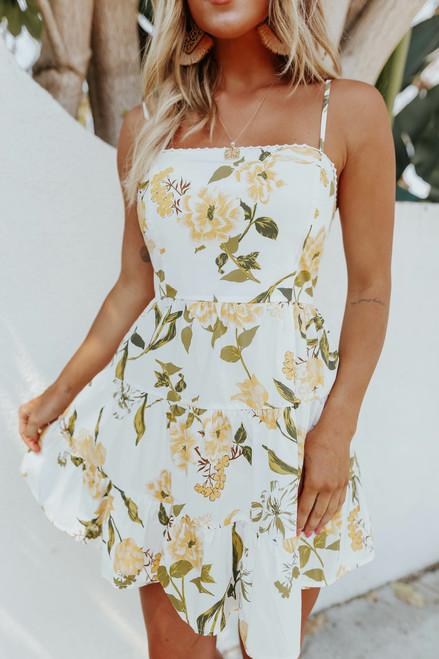BB Dakota Lush Life Floral Dress