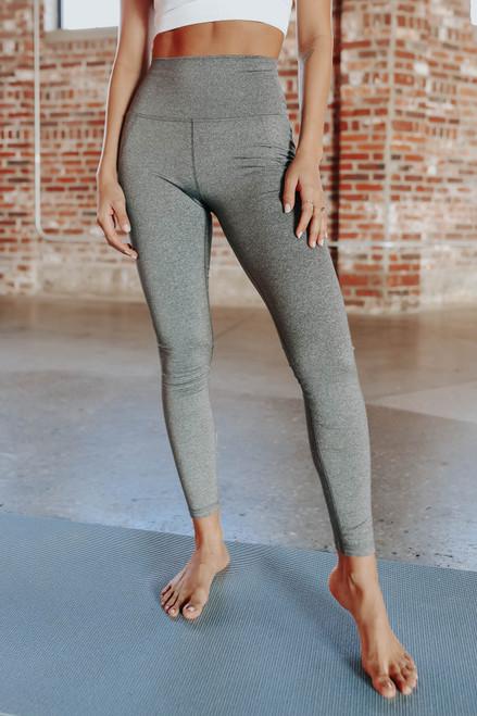 Fresh Air Grey High Waist Leggings