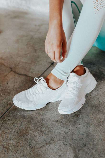 Record Setter Lace Up Sneakers