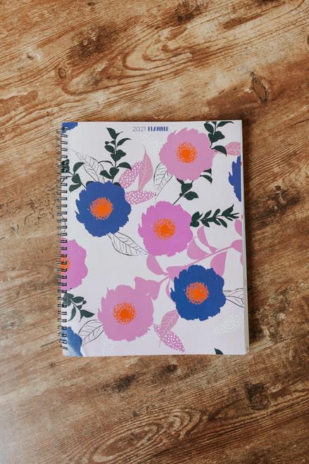 2021 Large Floral Planner