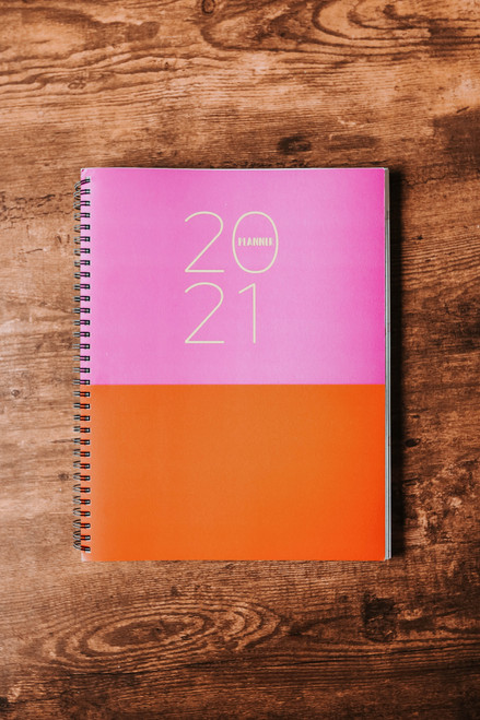 2021 Large Colorblock Planner