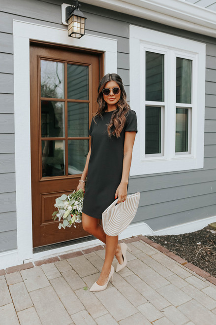 Southern Standard Black Shift Dress