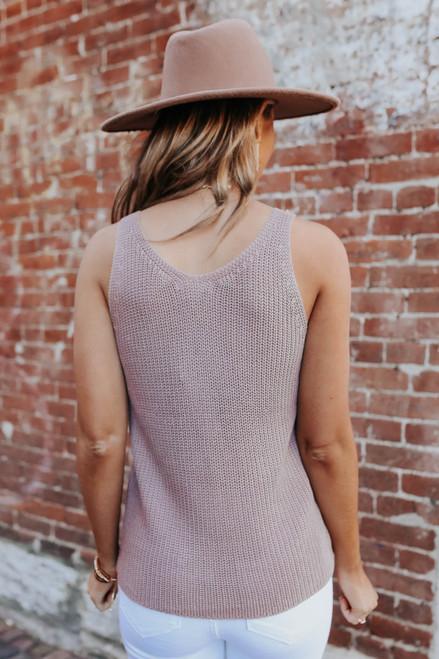 V-Neck Coco Sweater Tank