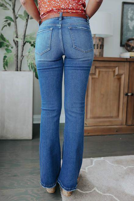 Mountain Breeze Medium Wash Flare Jeans