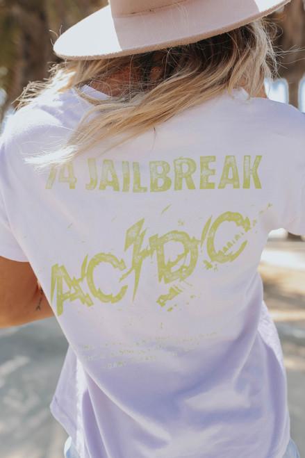 Daydreamer AC/DC Jailbreak Girlfriend Tee