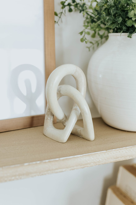 Small Stone Wedding Knot