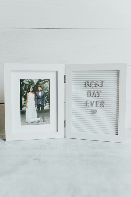 6 X 4 Letterboard & Photo Frame