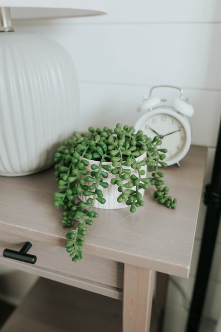 Hanging Artificial Succulent Planter