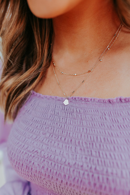Kendra Scott Clover Multi Strand Necklace