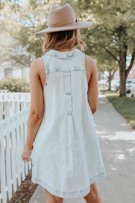 Free People Katie Denim Dress