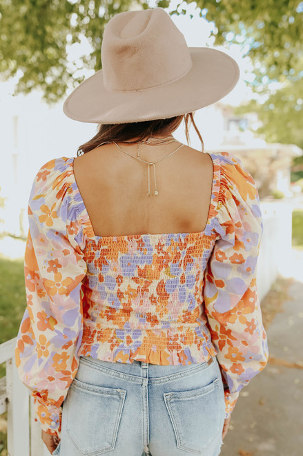 Free People Ariana Spring Combo Printed Top