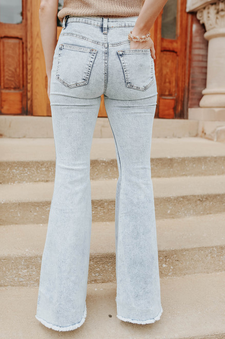 Day Trip 5-Button Vintage Flare Jeans