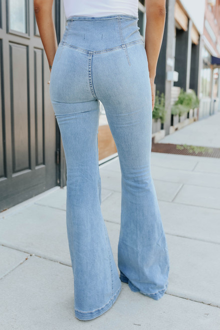 Free People Venice Beach Flare Jeans